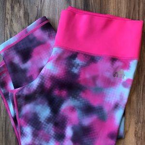 Adidas Pink Capri Workout leggings XL
